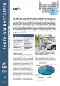 MiMa Faktablad - Fakta om råstoffet - Grafit